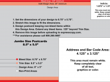 69 Customize Our Free Usps Postcard Layout Template For Free by Usps Postcard Layout Template