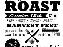 69 Format Pig Roast Flyer Template Free Now with Pig Roast Flyer Template Free