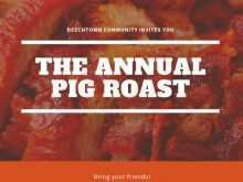 69 Format Pig Roast Flyer Template Free Photo by Pig Roast Flyer Template Free