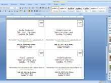 69 Free Card Template 4 Per Page for Ms Word with Card Template 4 Per Page