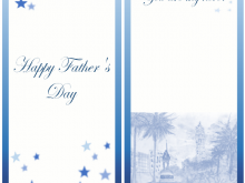 Father'S Day Card Template Download