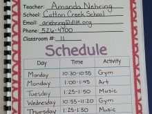 69 How To Create 4Th Grade Homework Agenda Template Templates for 4Th Grade Homework Agenda Template