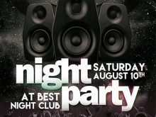 69 How To Create Club Flyers Template With Stunning Design for Club Flyers Template