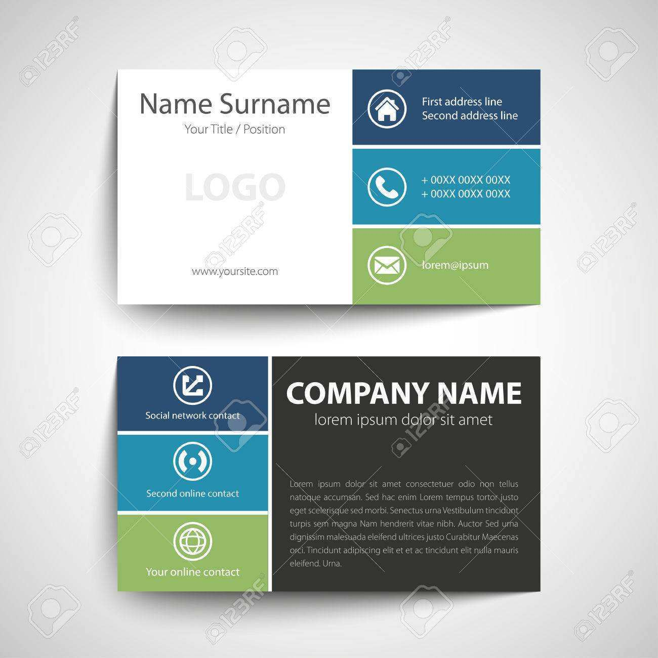 69 How To Create Simple Business Card Template Online Photo With Simple Business Card Template Online Cards Design Templates