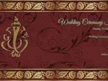 Kerala Hindu Wedding Card Templates