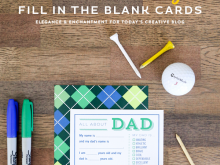 69 Online Blank Father S Day Card Template Maker with Blank Father S Day Card Template