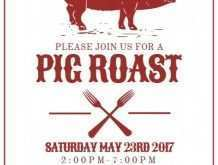 69 Online Pig Roast Flyer Template Free Now with Pig Roast Flyer Template Free