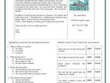 69 Postcard Template Esl Download for Postcard Template Esl