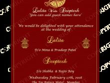 69 Printable Indian Wedding Card Templates Hd Templates for Indian Wedding Card Templates Hd