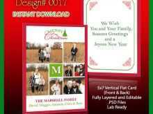 69 Report Christmas Card Template Size Photo by Christmas Card Template Size