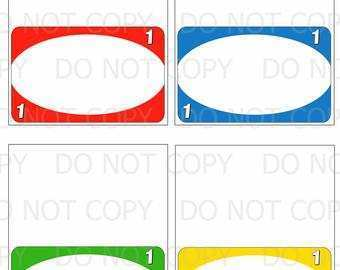 Free Printable Uno Card Template - Cards Design Templates