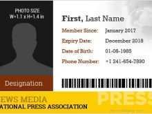 69 The Best Id Card Press Template Maker for Id Card Press Template