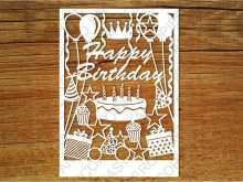 69 The Best Silhouette Birthday Card Template With Stunning Design by Silhouette Birthday Card Template