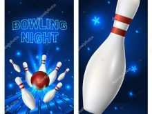 70 Adding Bowling Night Flyer Template Layouts by Bowling Night Flyer Template