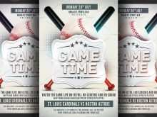 70 Best Baseball Flyer Template Free for Ms Word with Baseball Flyer Template Free
