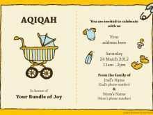 70 Best Invitation Card Aqiqah Template Download by Invitation Card Aqiqah Template