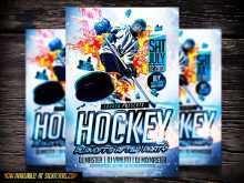 70 Blank Free Hockey Flyer Template in Photoshop with Free Hockey Flyer Template