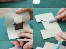 70 Blank Typewriter Pop Up Card Template Templates for Typewriter Pop Up Card Template