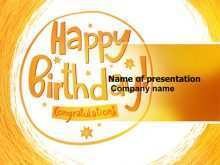70 Create Birthday Card Template Ppt Templates with Birthday Card Template Ppt