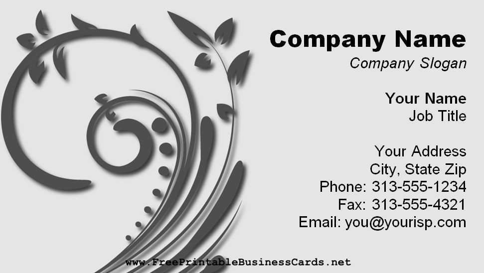 70 Creating Business Card Templates Free And Printable Maker by Business Card Templates Free And Printable
