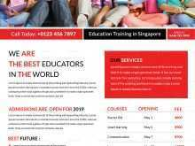 70 Creating Education Flyer Templates in Word by Education Flyer Templates