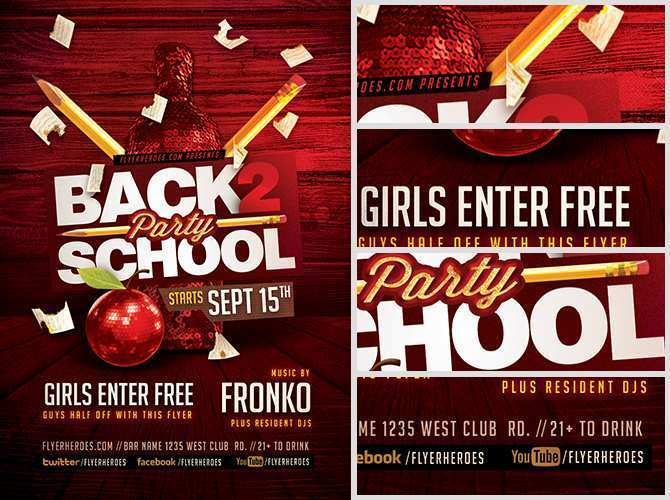 70 Creative Back To School Night Flyer Template in Word with Back To School Night Flyer Template