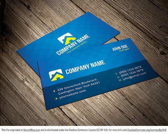 Adobe Illustrator Business Card Template Free Download ...