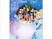 70 Customize Our Free Cinderella Birthday Card Template For Free by Cinderella Birthday Card Template