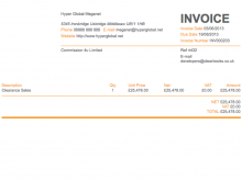 70 Customize Our Free Invoice Example Uk Formating by Invoice Example Uk