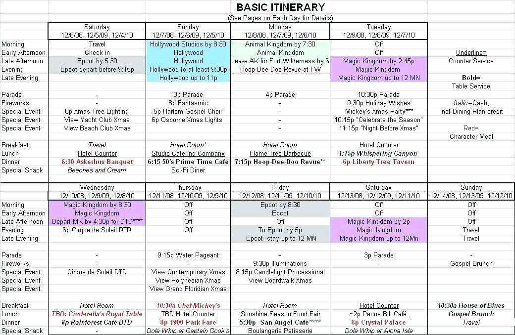 Party Itinerary Template from legaldbol.com