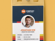 Simple Id Card Template Word