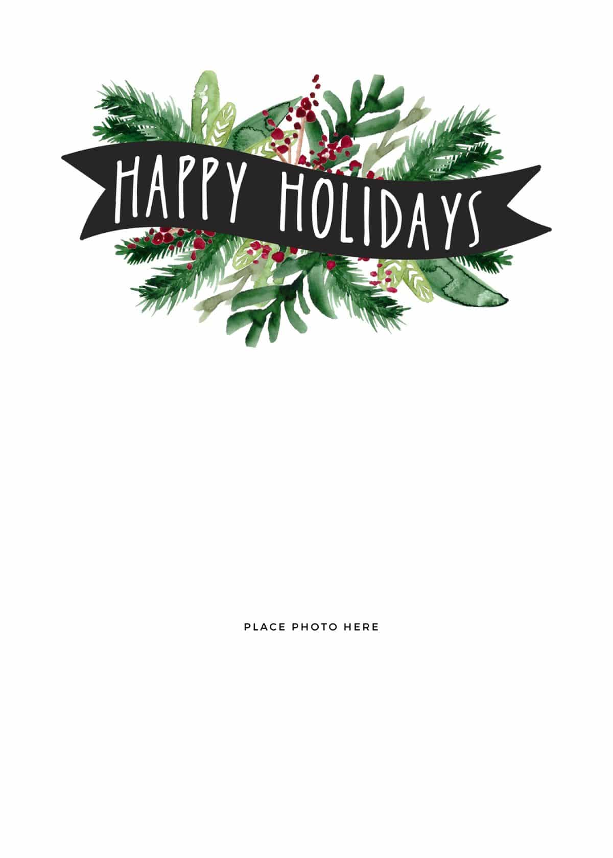 70 Free Christmas Card Templates Download Maker with Christmas Card Templates Download