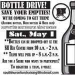 70 Free Printable Bottle Drive Flyer Template Photo for Bottle Drive Flyer Template