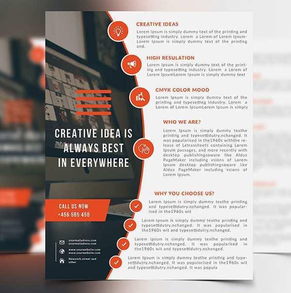 70 Free Printable Business Flyer Design Templates Download by Business Flyer Design Templates