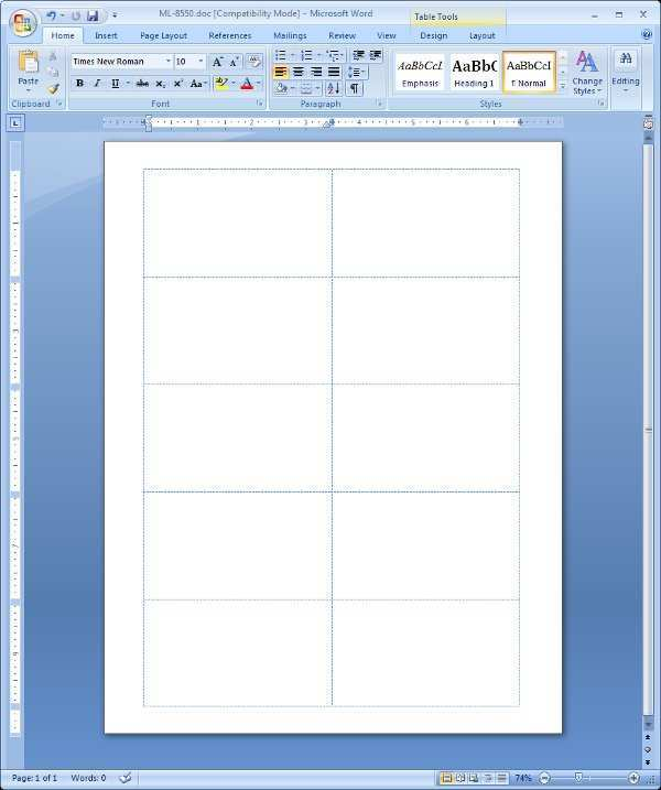 70 Free Printable Card Template For Word 2010 Photo with Card Template For Word 2010