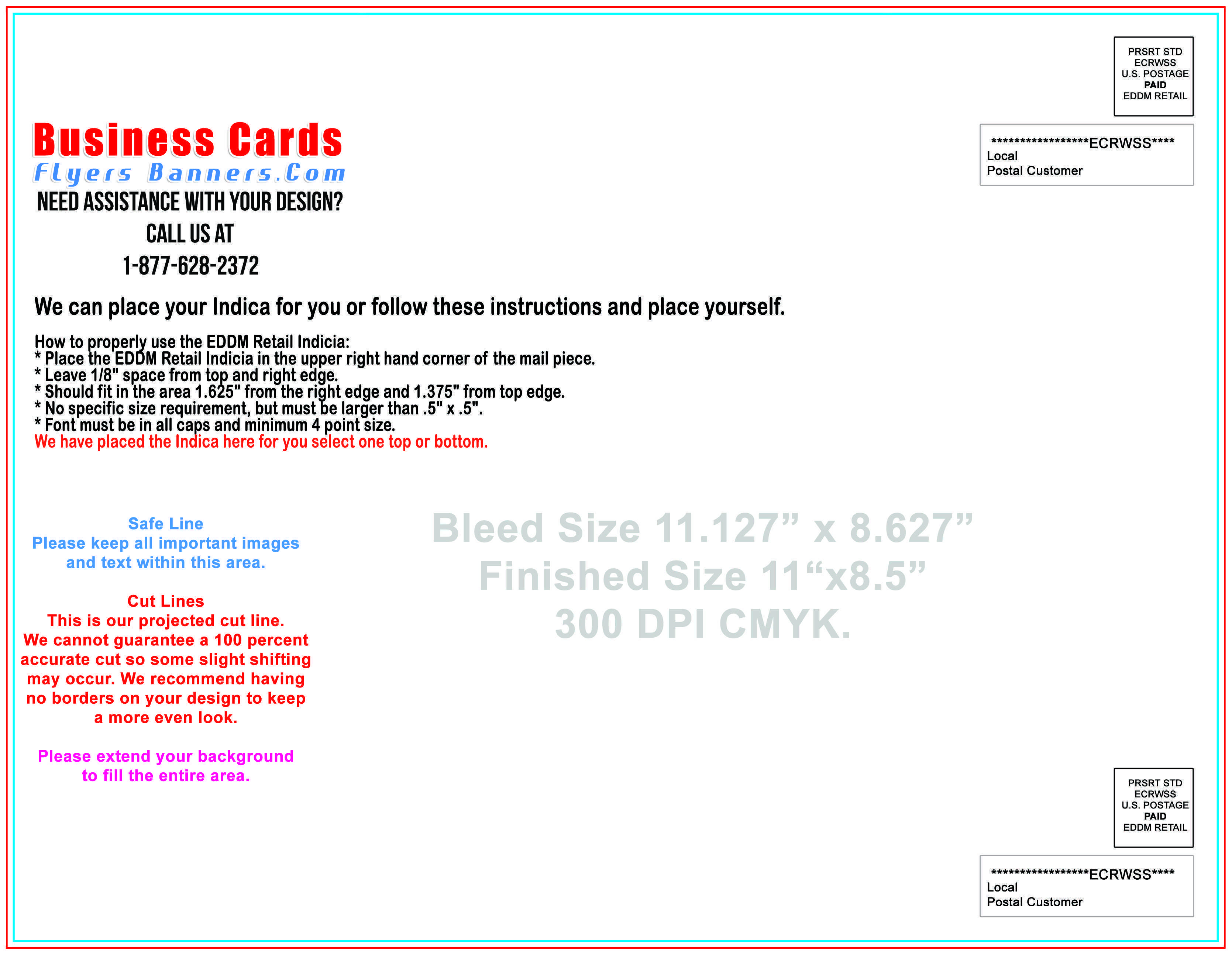 70 How To Create 8 X 11 Postcard Template For Free by 8 X 11 Postcard Template