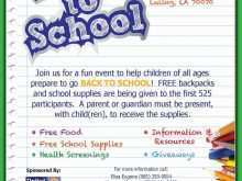70 How To Create Back To School Supply Drive Flyer Template Layouts by Back To School Supply Drive Flyer Template
