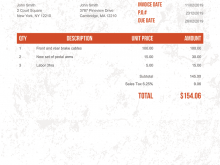 70 How To Create Blank Hotel Invoice Template Maker for Blank Hotel Invoice Template