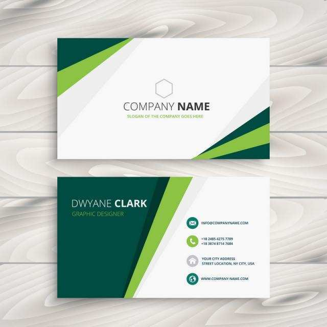 70 How To Create Business Card Template Green Free Download Templates for Business Card Template Green Free Download