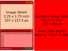 How To Make A Card Game Template