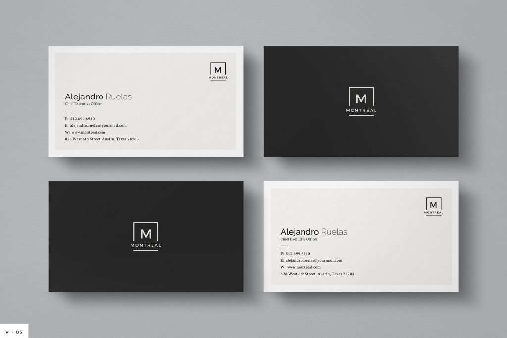 avery business card template 8869