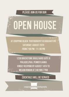 70 Printable Business Open House Flyer Template in Word for Business Open House Flyer Template