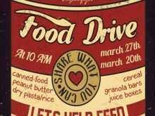 70 Printable Free Food Drive Flyer Template Maker with Free Food Drive Flyer Template