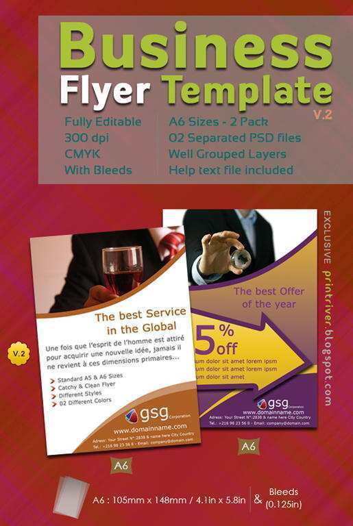 70 The Best Attractive Flyer Templates For Free for Attractive Flyer Templates