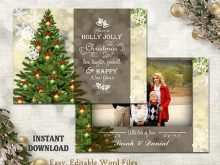 70 The Best Christmas Card Templates Editable Now with Christmas Card Templates Editable