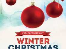 70 The Best Christmas Flyers Templates Layouts for Christmas Flyers Templates