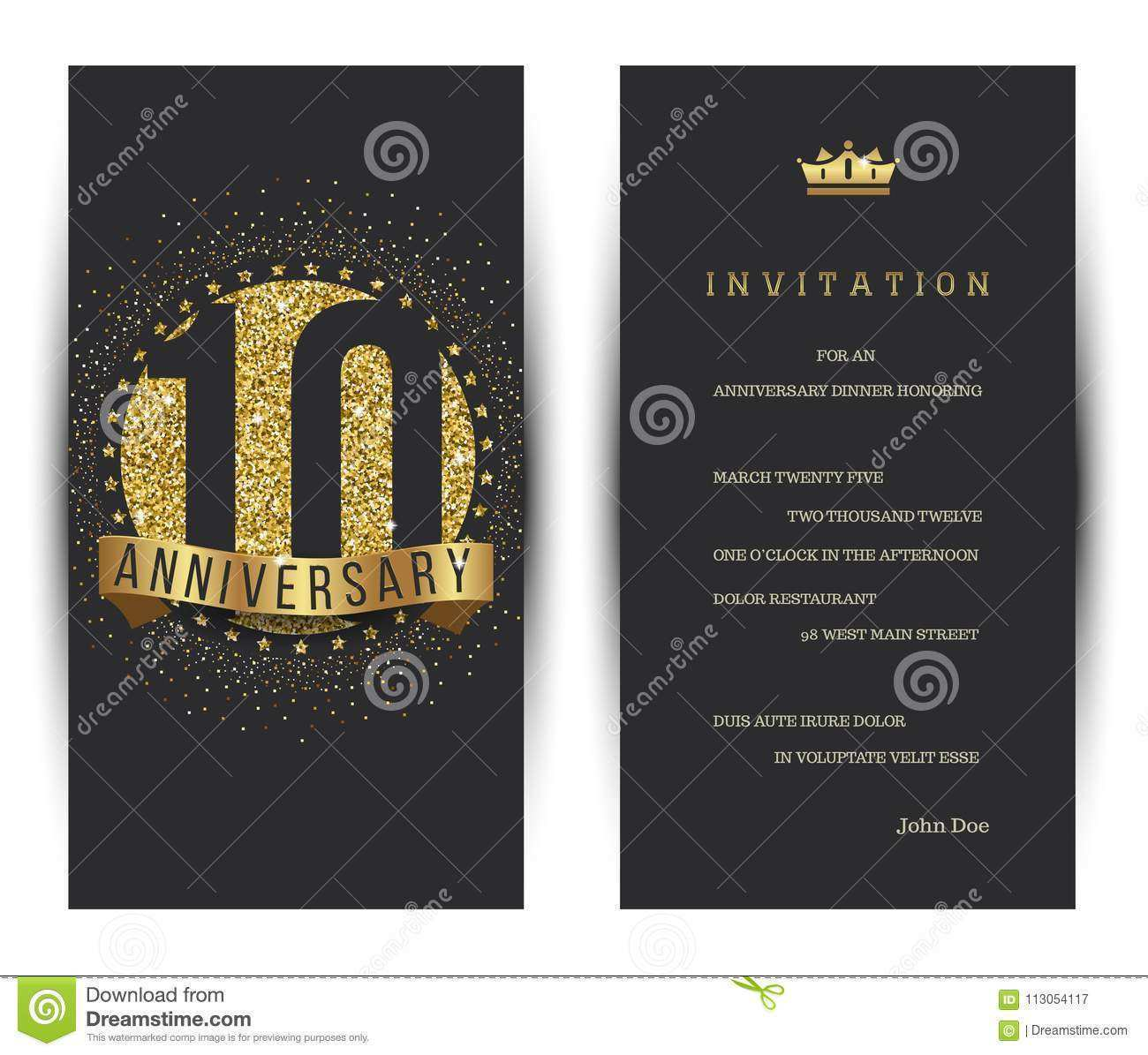 71 Best 10Th Birthday Card Template for Ms Word by 10Th Birthday Card Template