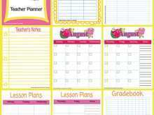 71 Blank Back To School Agenda Template With Stunning Design with Back To School Agenda Template