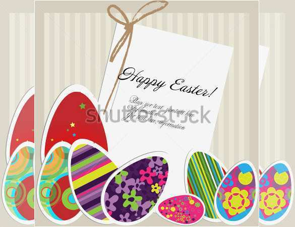 71 Blank Easter Card Design Templates With Stunning Design for Easter Card Design Templates