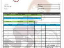 71 Creating Car Repair Invoice Template for Ms Word with Car Repair Invoice Template